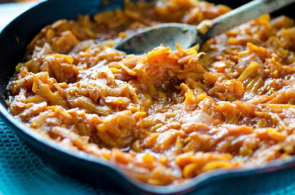 Tacos de Tinga de Zanahoria y Camote