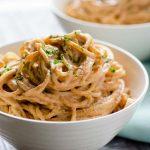 Espagueti al Chipotle Vegano