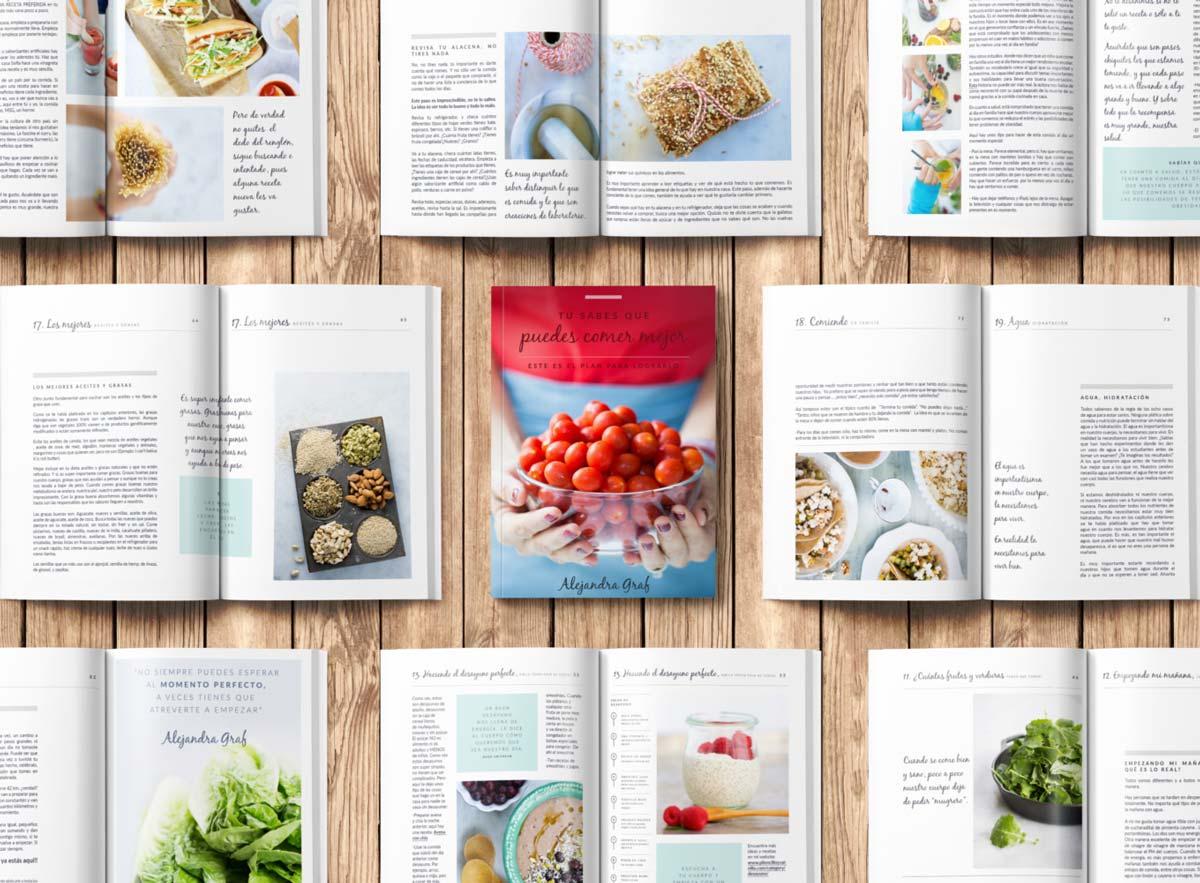 Guía Para Comer Mejor – Ebook Piloncillo Y Vainilla