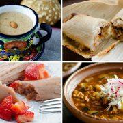 Estas recetas veganas para Navidad te van a encantar, te dejo recetas de pozole, menudo, tamales, buñuelos, lasagna y más