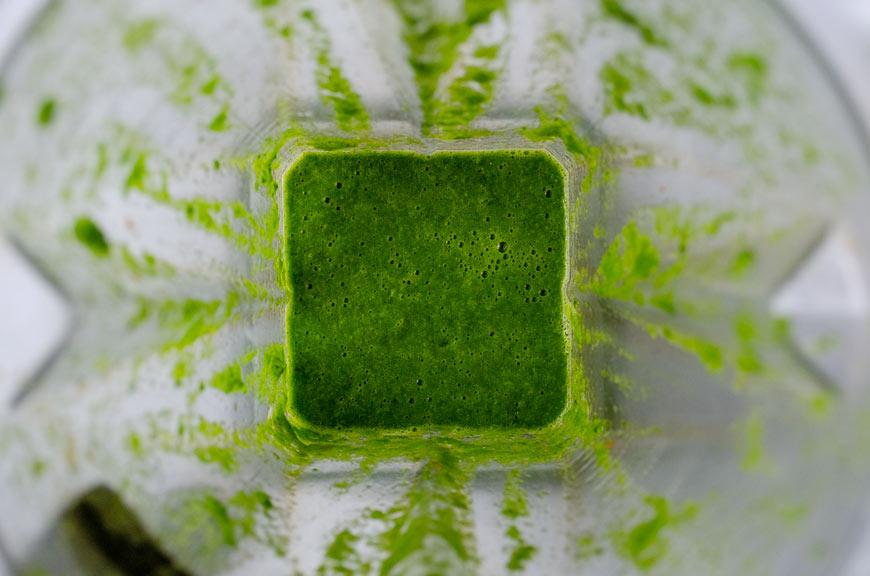Salsa para hacer aguachile verde vegano