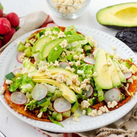 Enchiladas de suelo veganas