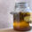 tepache en frasco esterilizado