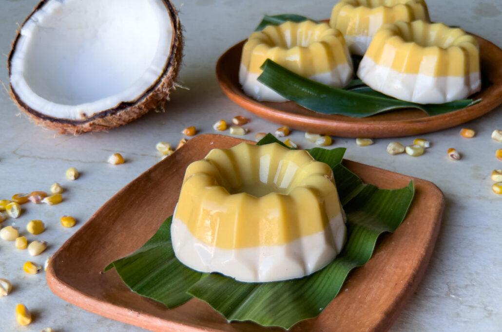 Nicuatole de maracuyá y coco