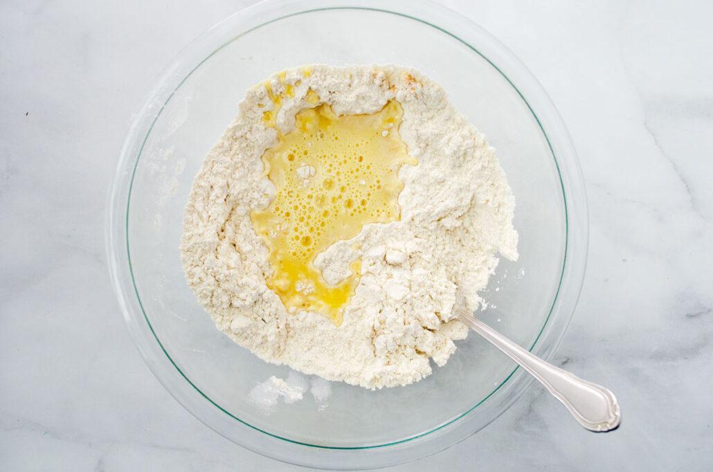 Masa sin huevo para buñuelos